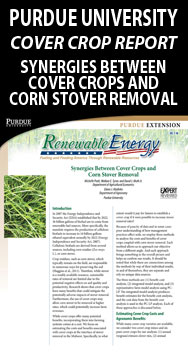 Purdue University Cover Crop Report